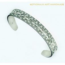 Bracelet Meandros name letter