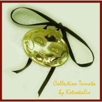 Tamata Eyes brass or silver