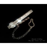 Tie Clip name & letter