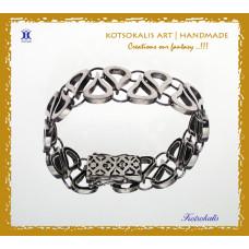 """Bracelet Silver 950"""" *Light* A10"""