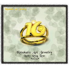 "Lucky Ring Love ""16 """