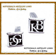 Cufflinks with Letters