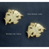 Cufflinks Greek Orthodox Jewelry Agiou orous